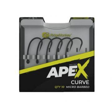 Ridgemonkey RM-Tec Ape-X Curve gun metal karper vishaak 6