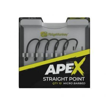 Ridgemonkey RM-Tec Ape-X Straight Point gun metal karper vishaak 6