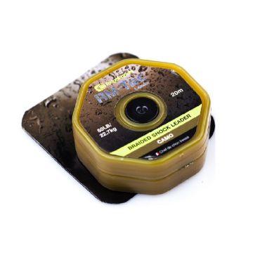 Ridgemonkey RM-Tec Braided Shock Leader camo karper klein vismateriaal