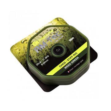 Ridgemonkey RM-Tec Chod - Stiff Rig groen karper klein vismateriaal 50lb 20m