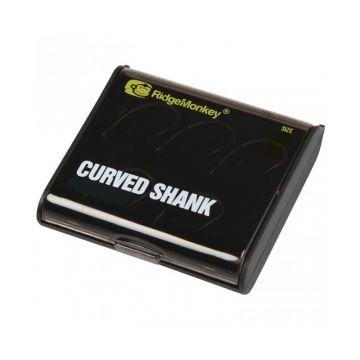 Ridgemonkey RM-Tec Curved Shank Barbed nickel karper vishaak 4