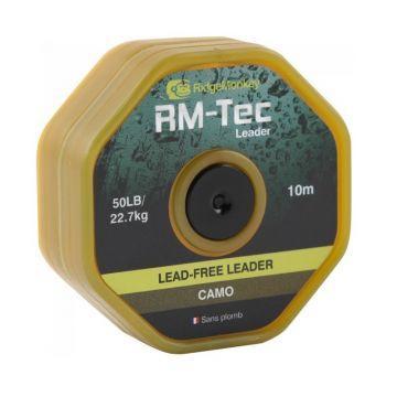 Ridgemonkey RM-Tec Lead-Free Hooklink camo karper klein vismateriaal 50lb 20m