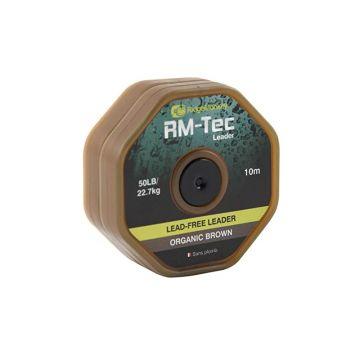 Ridgemonkey RM-Tec Lead Free Leader organic brown karper lood systeem 50lb 10m