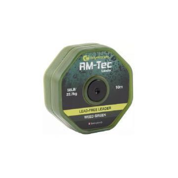 Ridgemonkey RM-Tec Lead Free Leader weed green karper lood systeem 50lb 10m