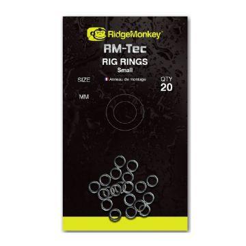 Ridgemonkey RM-Tec Rig Rings nickel karper klein vismateriaal X-small