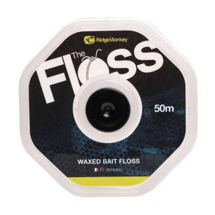 Ridgemonkey The Floss wit karper klein vismateriaal 35lb 20m