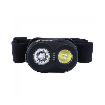 Ridgemonkey VRH150 USB Rechargeable Headtorch wit - zwart - groen lamp