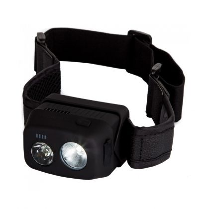 Ridgemonkey VRH300 USB Rechargeable Headtorch groen - zwart - wit lamp