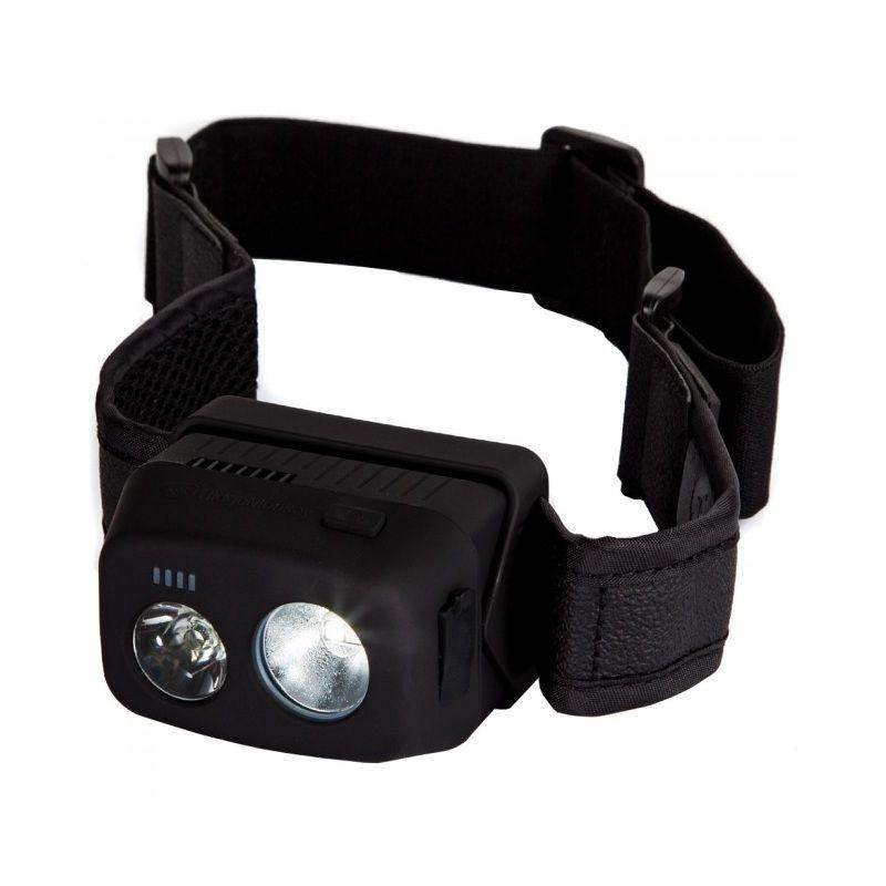 Ridgemonkey VRH300 USB Rechargeable Headtorch groen - zwart - wit lamp