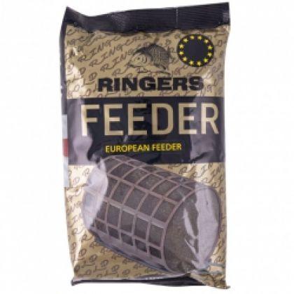 Ringers European Feeder Mix Dark zwart witvis visvoer 1kg