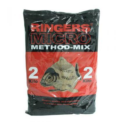 Ringers Micro Method Mix bruin witvis visvoer 2kg