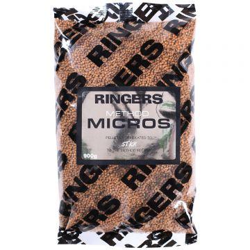 Ringers Micro Pellets bruin vispellets 900g
