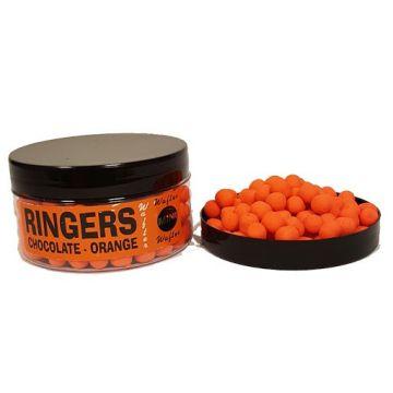 Ringers Mini Wafters Orange oranje witvis mini-boilie