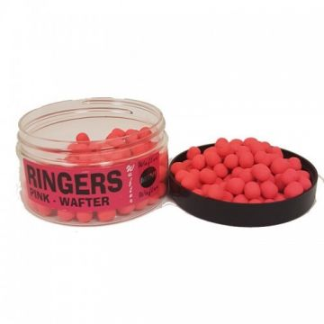 Ringers Mini Wafters Pink roze witvis mini-boilie