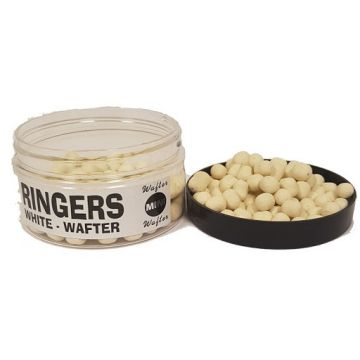 Ringers Mini Wafters White wit witvis mini-boilie
