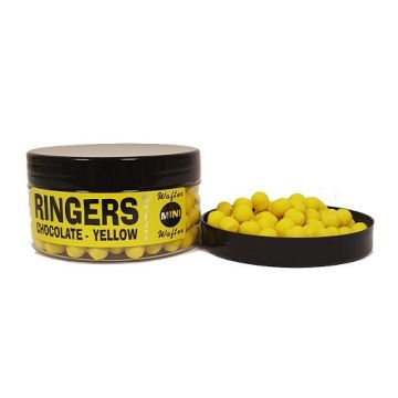 Ringers Mini Wafters Yellow geel witvis mini-boilie