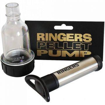 Ringers Pellet Pomp zwart - zilver vispellets