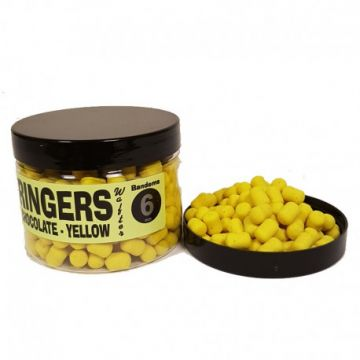 Ringers Wafters Yellow geel witvis mini-boilie 6mm