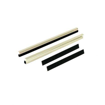 Rive Kit Reglette Cassier 30MM Pour Plioir 26 zilver - zwart witvis