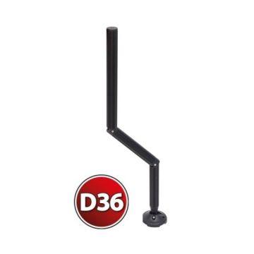 Rive Pied Offset zwart witvis  D36 75cm