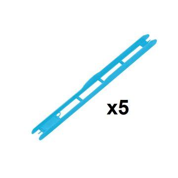 Rive Plioir Blue 1x5 blauw onderlijn plankje 26x1.8cm