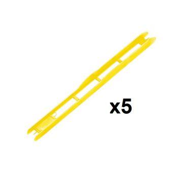 Rive Plioir Jaune 1x5 geel onderlijn plankje 26cm L