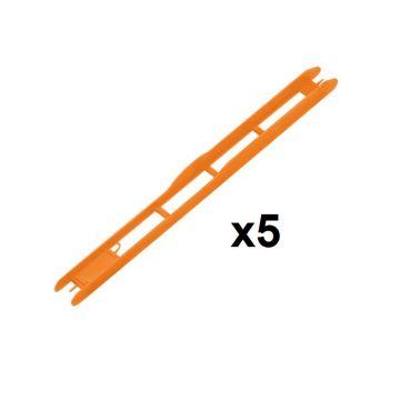 Rive Plioir Orange 1x5 oranje onderlijn plankje 26x1.8cm