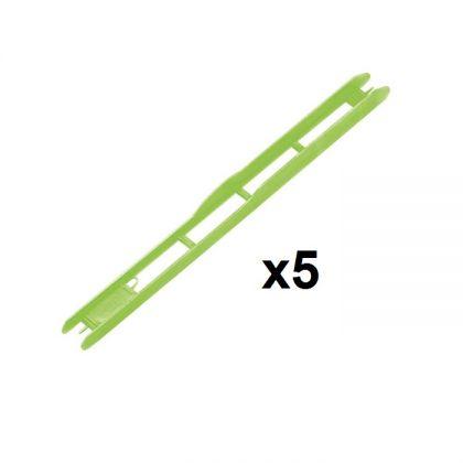 Rive Plioir Vert 1x5 groen onderlijn plankje 26x1.8cm