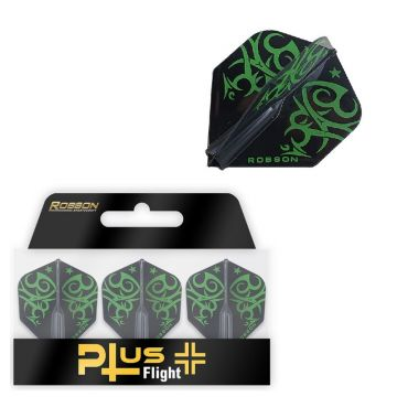 Robson Plus Flight Standard Tribe Green zwart - groen