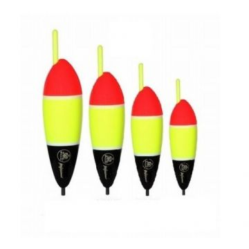 Rox Seabass Inline Float rood - zwart - geel zeevis visdobber 30g