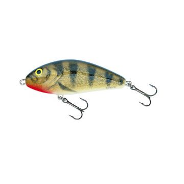 Salmo Fatso Floating EMERALD PERCH roofvis kunstaas 10cm 48g