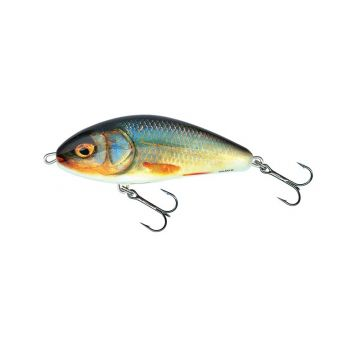 Salmo Fatso Floating real roach roofvis kunstaas 10cm 48g
