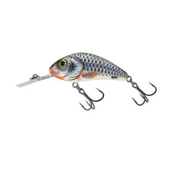 Salmo Rattlin' Hornet silver holographic roofvis kunstaas 5.5cm 10.5g