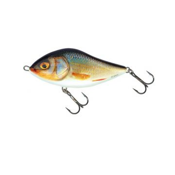 Salmo Slider Floating real perch roofvis kunstaas 10cm 36g