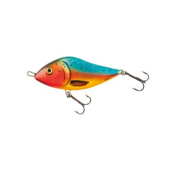 Salmo Slider Floating orange parrot roofvis kunstaas 10cm 36g
