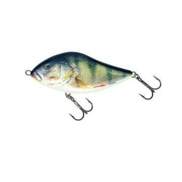 Salmo Slider Sinking real perch roofvis kunstaas 7cm 21g