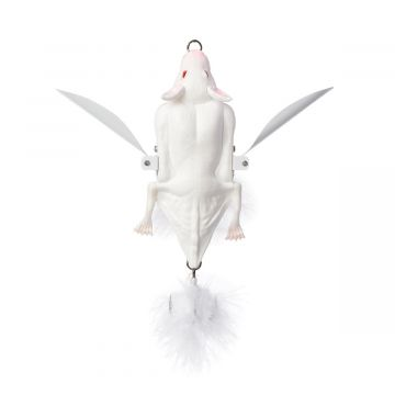 Savagegear 3D Bat albino roofvis kunstaas 7cm 14g