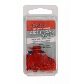 Albatros Top Level Artificial Maggot red imitatie visaas