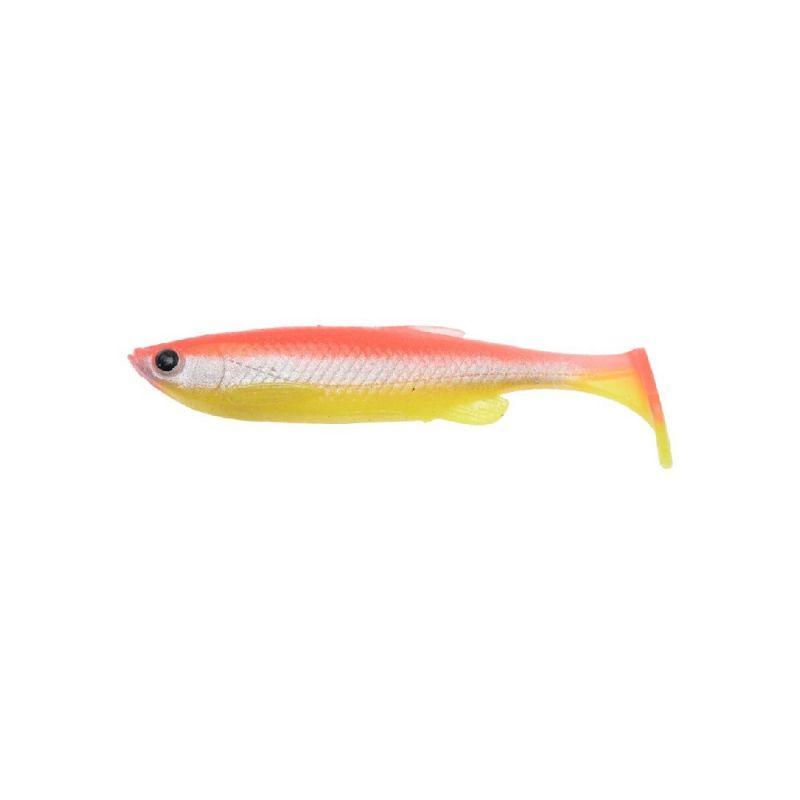 Savagegear 3D Fat Minnow T-Tail yellow red fluo shad per stuk 13cm 20g