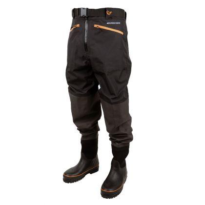 Savagegear Breathable Waist Wader Boot Foot black waadpak 44