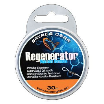 Savagegear Regenerator Mono clear visdraad 0.40mm 30m
