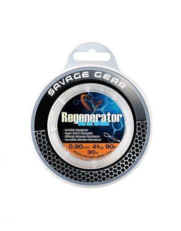 Savagegear Regenerator Trace clear roofvis roofvis onderlijn 0.85mm 50cm 20kg