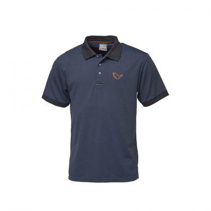 Savagegear Simply Savage Polo navy vis t-shirt Medium