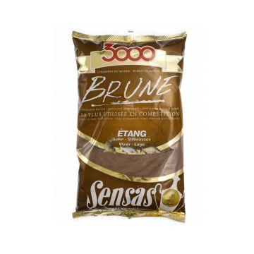 Sensas 3000 Brune Etang 1kg brun