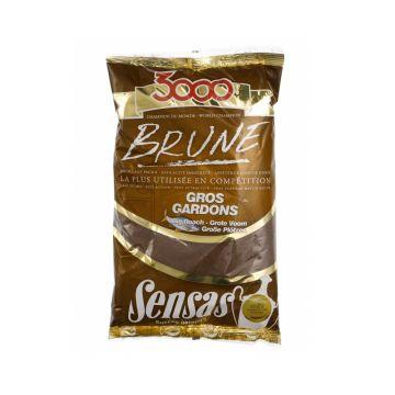 Sensas 3000 Brune Grote Voorn 1kg brun
