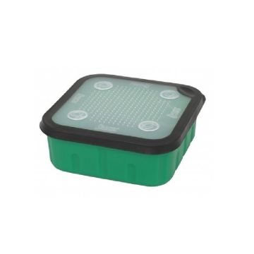Sensas Aasdoos groen - clear - zwart madendoos 1.5l
