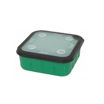 Sensas Aasdoos groen - clear - zwart madendoos 1l