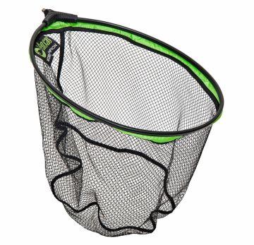 Sensas Barnston Competition Rubber zwart - groen visschepnet 40x30cm