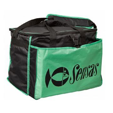 Sensas Carryall Champion Challenge zwart - groen foreltas witvistas 50x35x30cm