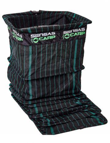 Sensas Challenge Carpodrome zwart - groen witvis leefnet 2m50